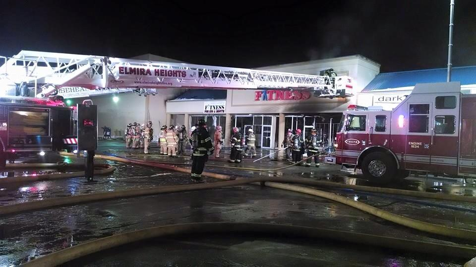 Grand Central Fitness Fire